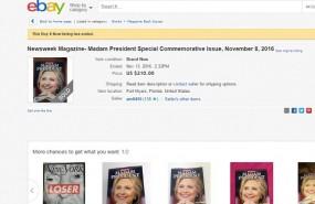 ebay newsweek clinton