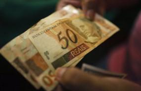 ep archivo - un billete de 50 reales brasilenos