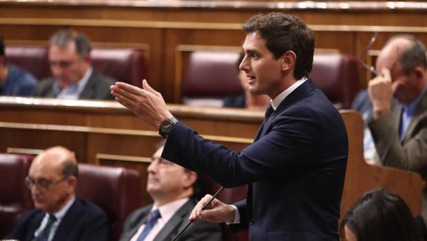 ep el presidente de ciudadanos albert rivera realiza sus preguntas al presidente del gobierno en