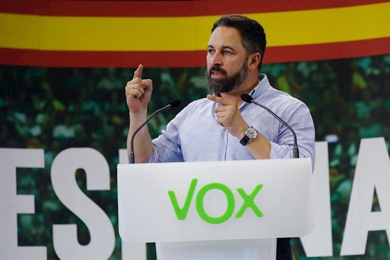 ep el presidente de vox santiago abascal en una foto de archivo