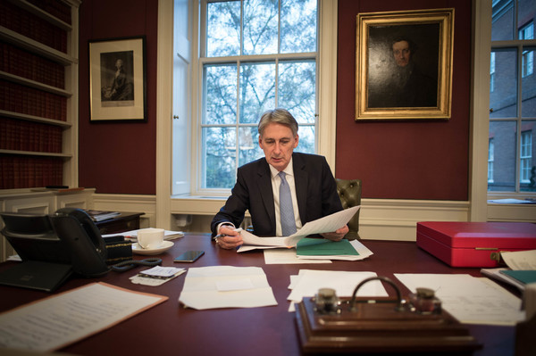 philip hammond, chancellor