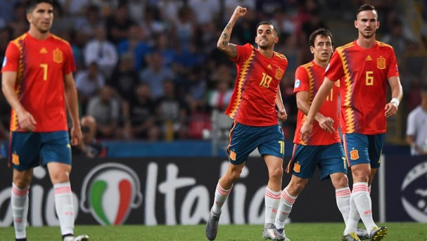 ep uefa under-21 euro - italy vs spain