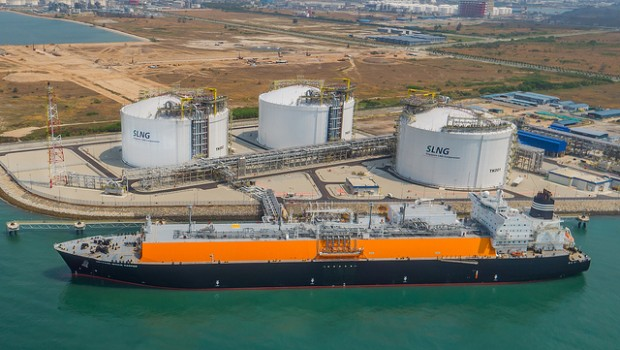 BG Group Singapore LNG import terminal