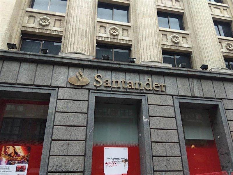 ¿Hasta donde caería el Santander si pierde los 3,30 euros?
