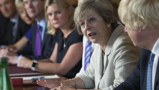 theresa-may-conseil-des-ministres-gouvernement-britannique-boris-johnson-brexiters-hard-brexit-liam-fox-david-davis-remainers-philip-hammond-greg-clark