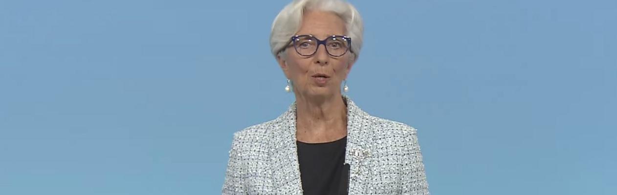 """Lagarde (BCE): """"La perspectiva económica es brillante y el crecimiento se acelera"""""""
