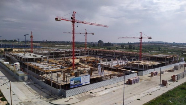 ep archivo   obras de construccion de una promocion de nuevas viviendas de habitat inmobiliaria