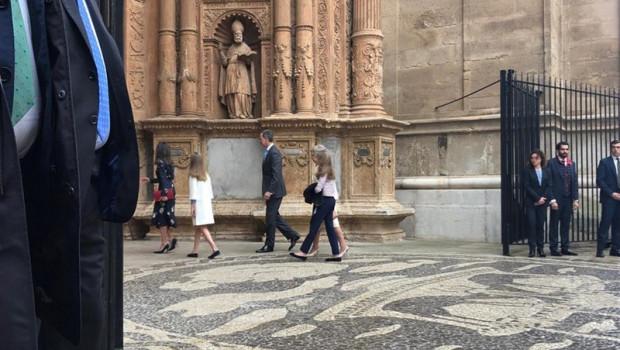 ep la familia real asistela misapascuala catedralpalmamallorca