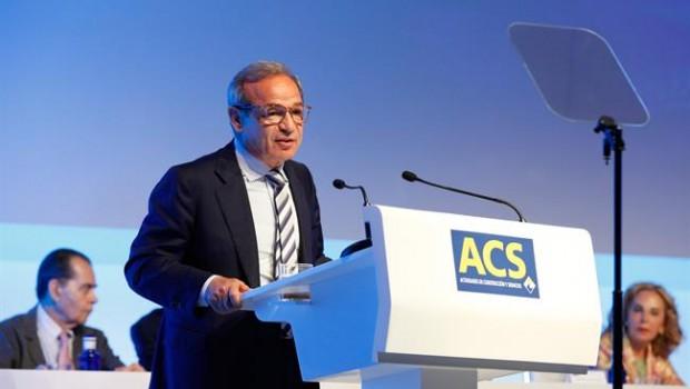 Marcelino Fernández Verdes invierte casi medio millón de euros en títulos de ACS