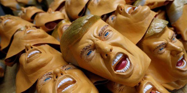 trump-masque