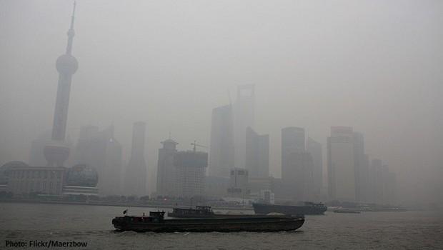 china, shanghai, smog, environment, asia