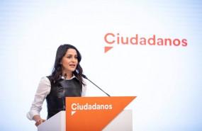 ep la presidenta de ciudadanos ines arrimadas en una rueda de prensa en la sede del partido