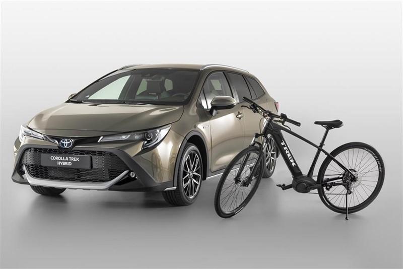 Aspecto off-road para el renovado compacto — Toyota Corolla Trek