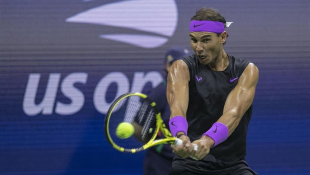 ep 04 september 2019 us new york spanish tennis player rafael nadal in action against argentinas