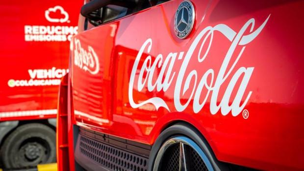 ep archivo - camion de coca-cola