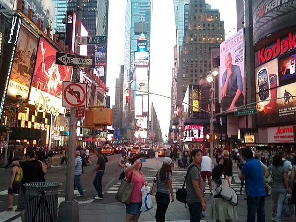 Times Square, New York, US, America