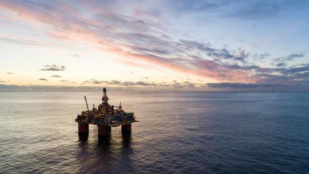 ep plataforma petrolera en el mar de noruega