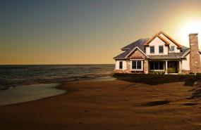 casa en la playa verano