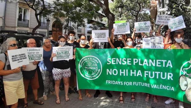 ep concentracion sos amazonas convocatoria mundial justicia climatica ya ante el consulado de la