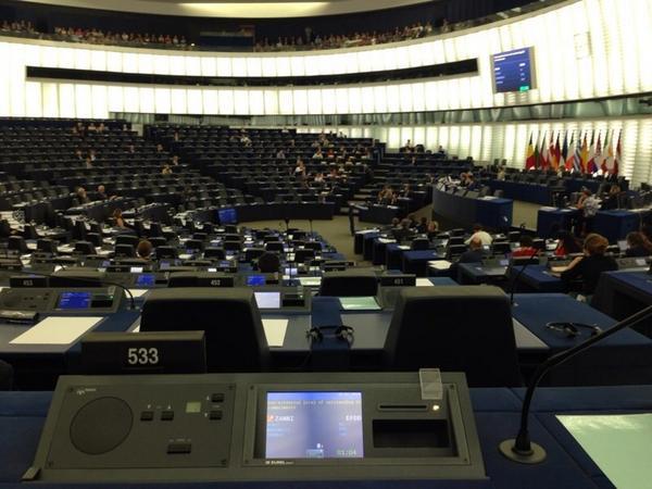 Parlamento Europeo-Palestina