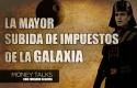careta money talks impuestos otra galaxia