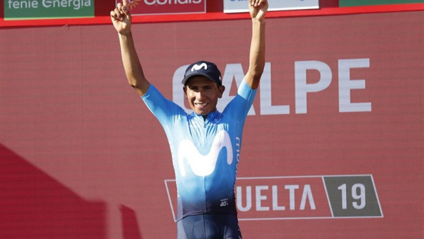 Nairo Quintana, el nuevo líder de la Vuelta a España