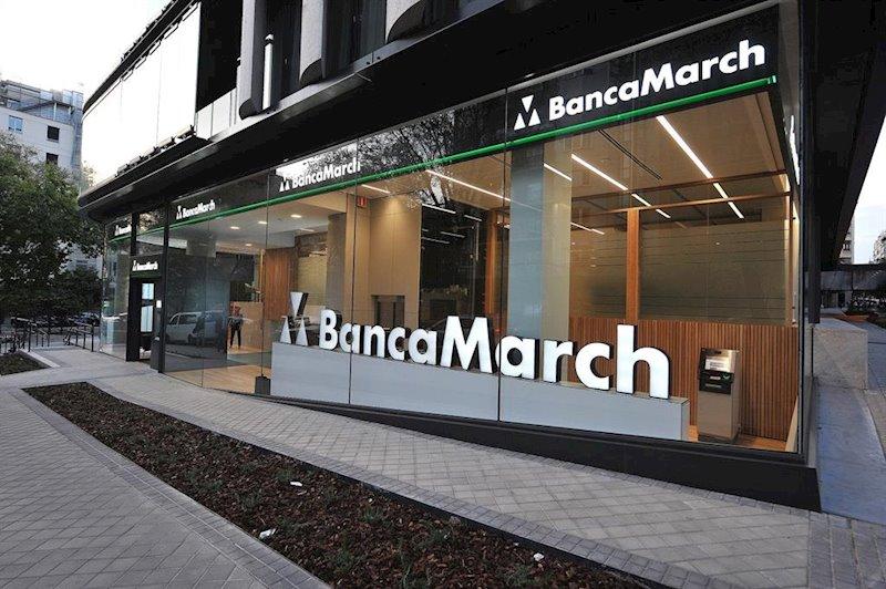 ep oficina de banca march en calle juan bravo 3 madrid