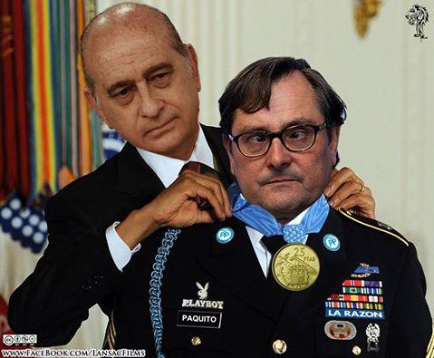 Resultado de imagen de medalla a marhuenda