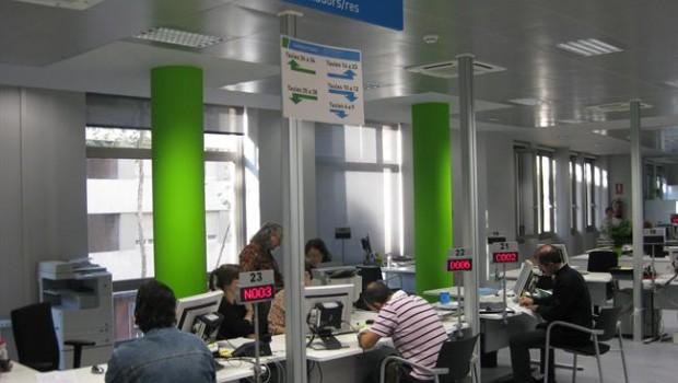 Atur l 39 atur puja a catalunya en persones el gener for Oficina seguretat social