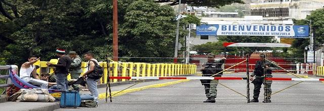 frontera venezuela cerrada