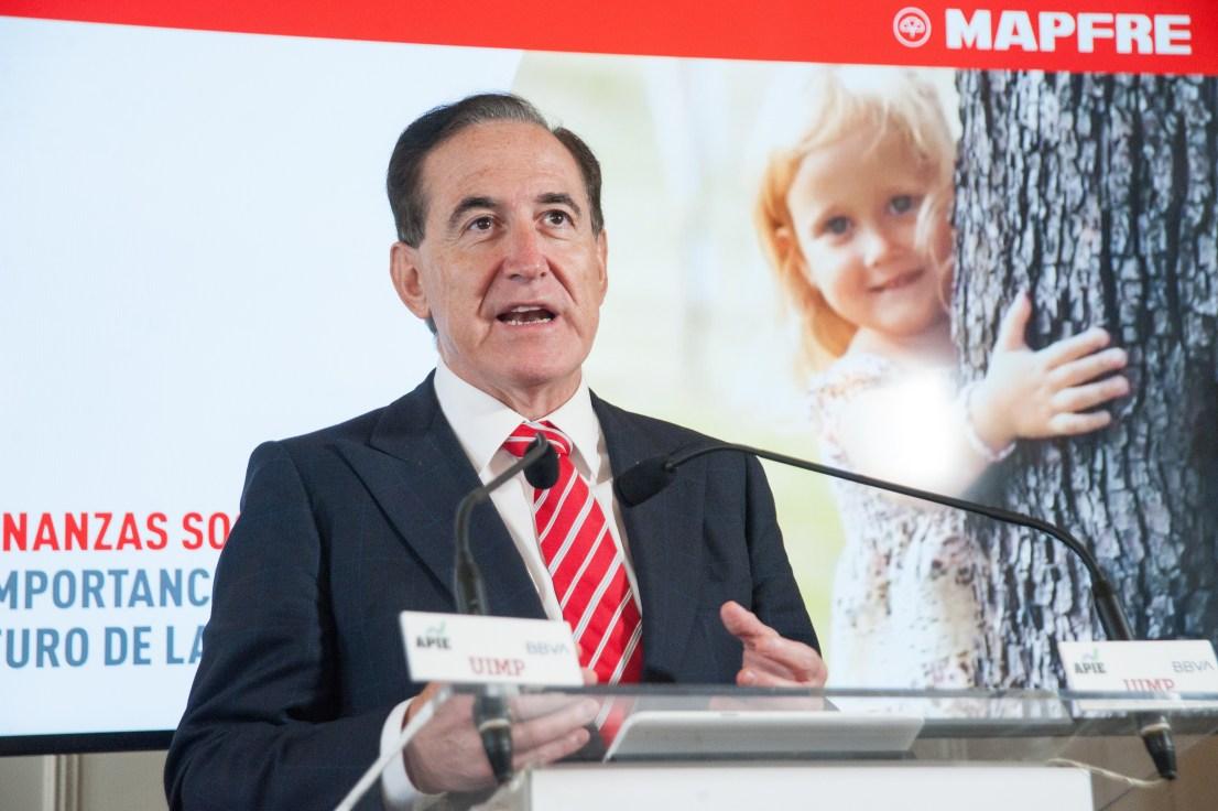 Antonio Huertas, presidente de Mapfre, compra 45.000 títulos por 110.000 euros