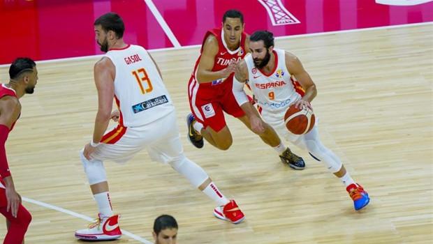 ep ricky rubio en el espana - tunez del mundial 2019