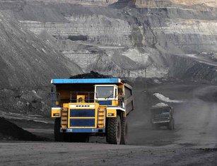 Kazakhmys, mining truck 125