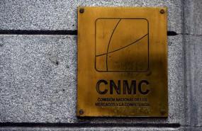 ep archivo - placa identificativa en el edificio de la cnmc en madrid espana