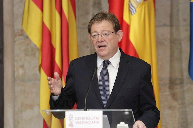 """Puig insiste en el criterio de población para repartir los fondos: """"Somos solidarios pero queremos justicia"""""""